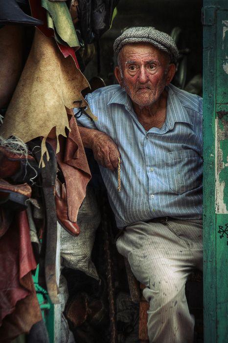 Leather Worker in Tel Aviv, Israel