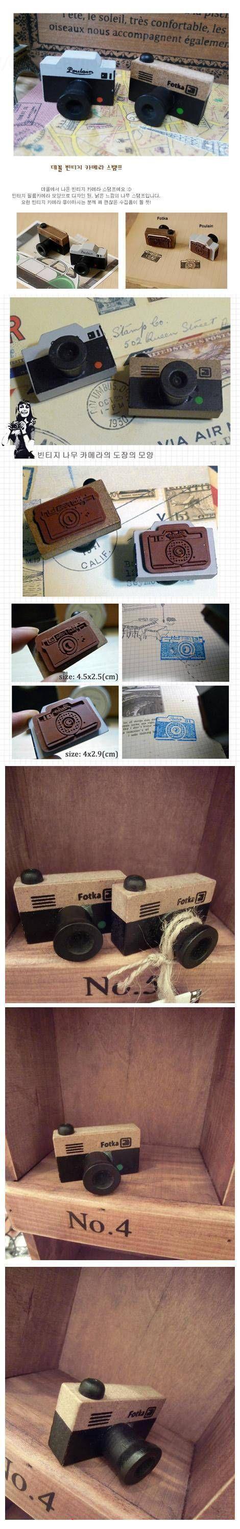 (1 Lote = 4 unidades) 2 estilos DIY Scrapbooking Vintage Camera Madeira Lace selos Decoração Stamp Carimbo em Selos de Escritório & material escolar no AliExpress.com | Alibaba Group