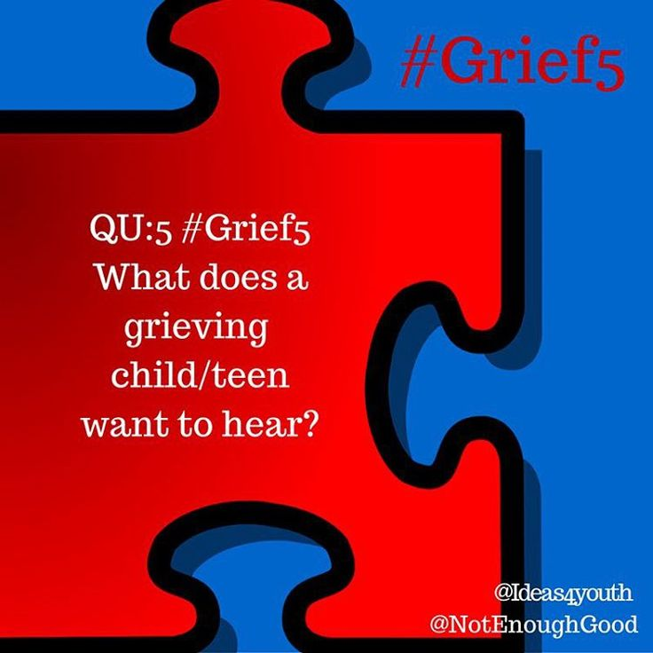 QU:5 #Grief5 What does a grieving child/teen want to hear? #youthleader #mentor #military #deployment #fostercare #death #divorce #incarceration #youthprograms #teacher #educator #fostermom #pastor #counselor #leader #motivator #reintegration #militarykids #militaryfamily #cgad #childrensgriefawarenessday #grief #loss #mentalhealth #practitioner #socialwork #socialworker #therapist
