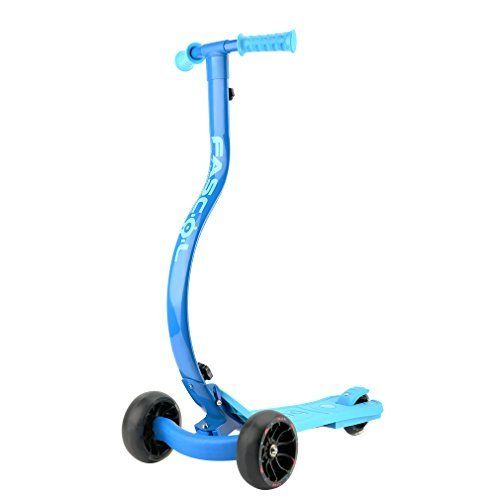 Fascol Children Folding Scooter with Flashing Wheels Kick Scooter for Kids 4 12 years Blue  Fascol Children Folding Scooter with Flashing Wheels Kick Scooter for Kids 4 12 years Blue  Expires Aug 20 2017