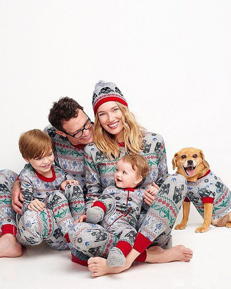 2016 Cotton Family Matching Outfits Fashion Family Christmas Pajamas Set For Mother & Kids Infant Dad And Son Sleepwear Set