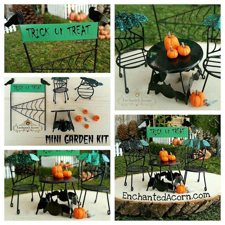 Trick Or Treat Halloween Fairy Garden Kit   A Limited Number Of These Kits