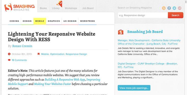 17 best Web Design I Love images on Pinterest Responsive web - photo editor job description