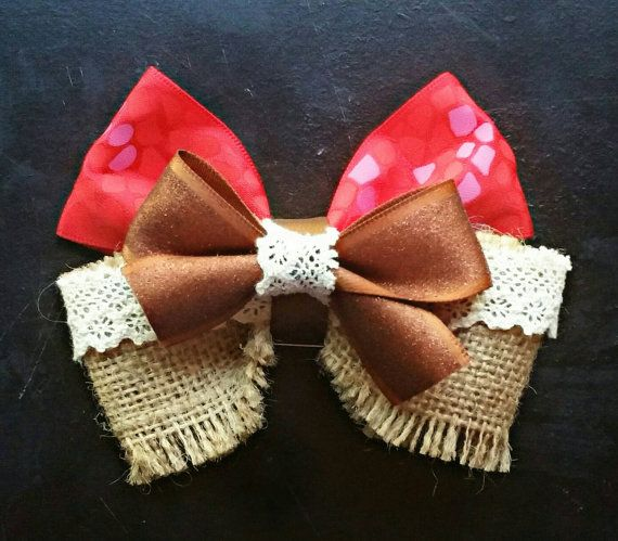 Hey, I found this really awesome Etsy listing at https://www.etsy.com/listing/475222147/island-princess-bow-accessory-inspired