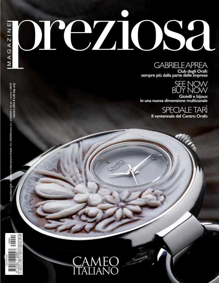 rivista di settore di gioielleria, oreficeria, argenteria, bijoux, accessori e tutto ciò che gira intorno al mondo del lusso