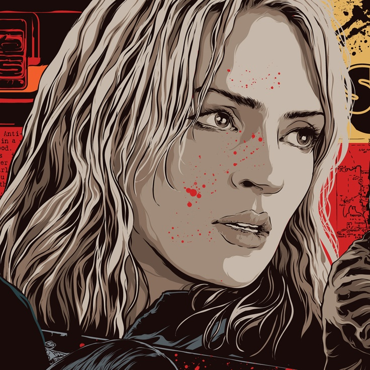 Uma Thurman from Kill Bill [Art by Mondo] #TarantinoXX