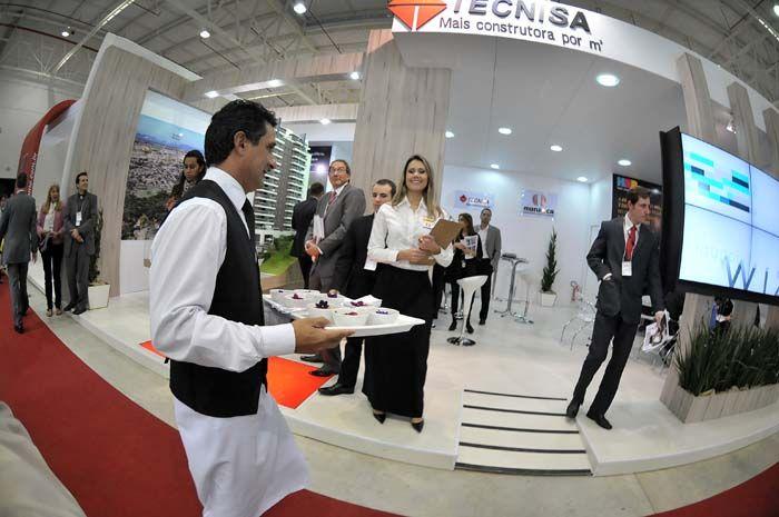 Coquetel Stand Tecnisa – Feira de Imóveis 2012, Expo Renault Barigui.