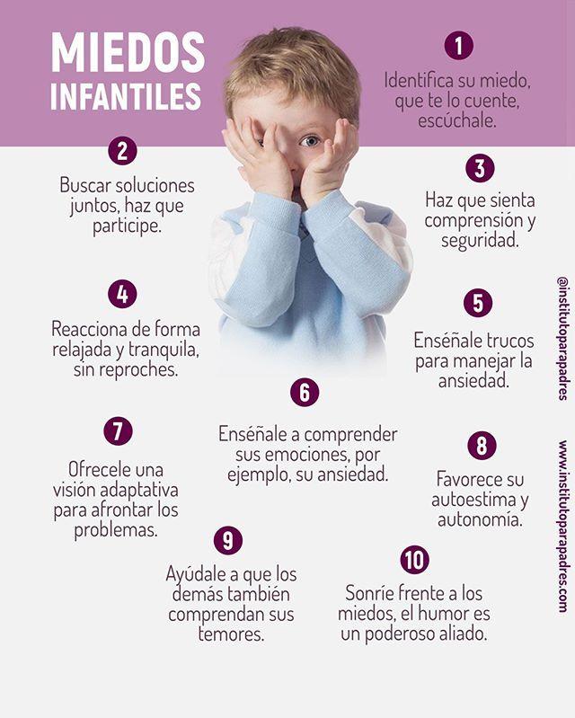 Los Miedos Evolutivos No Deben Ser Motivo De Grandes Preocupaciones Pero Si Son Tan Inten Educacion Emocional Infantil Educación Del Bebé Autoestima Para Niños