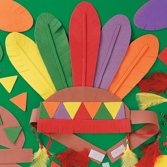 Sombrero para thankgiving de colores