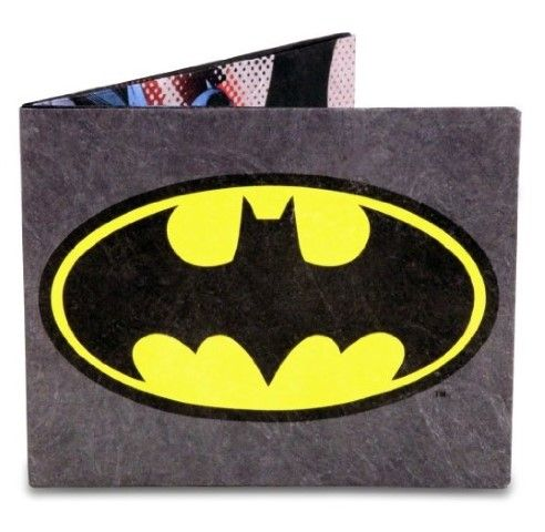 Buyers just love this Batman wallet! Where else would a superhero keep his spare cash, credit cards and ID? #Wallet #Teens Wallet