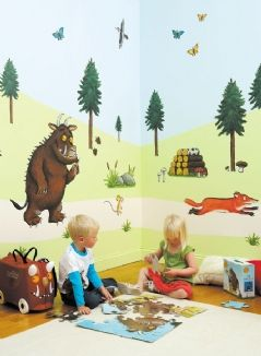 Wouldn't this look awesome in a Gruffalo fan's bedroom? The Gruffalo Room Makeover Kit