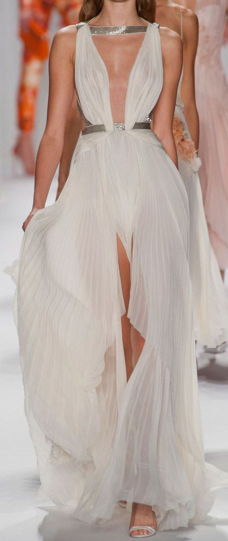 goddess gown / J Mendel     to bad i could never wear this because my chest is way too large