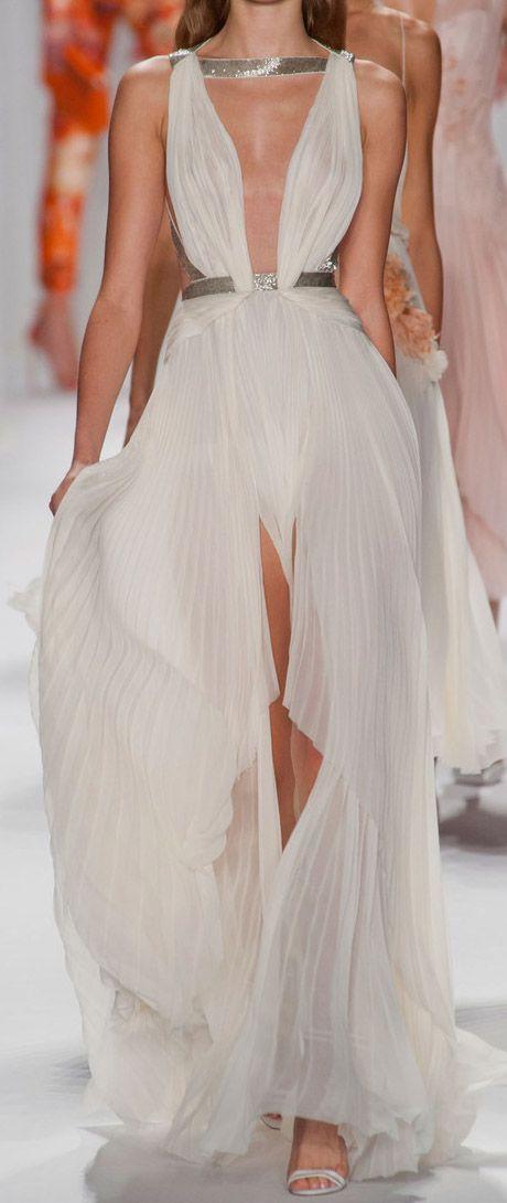 J Mendel Goddess gown