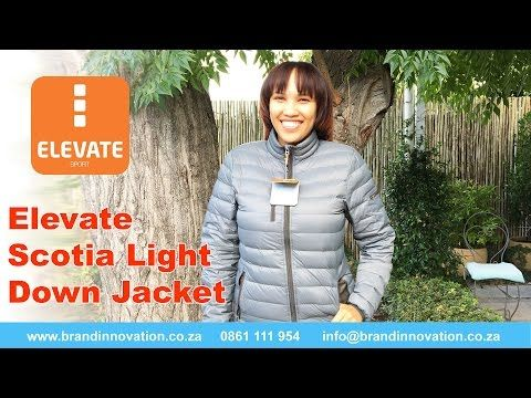 Scotia Ladies Light Down Jacket | Corporate Clothing Jackets  in South Africa - VIDEO