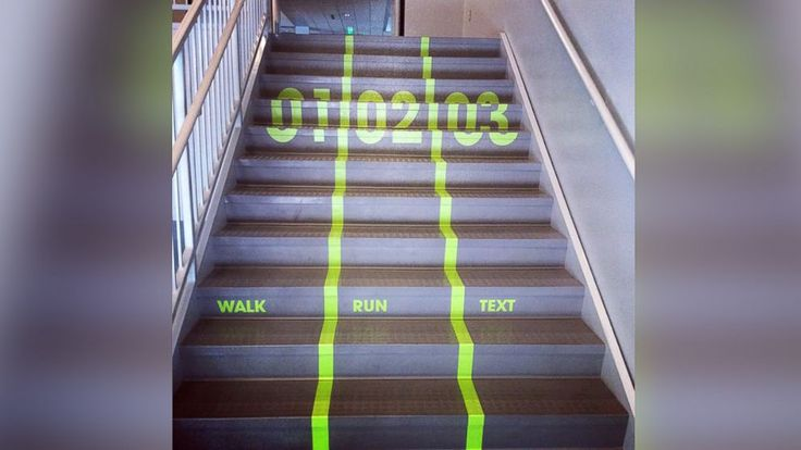 Creatively connecting to students with stairs