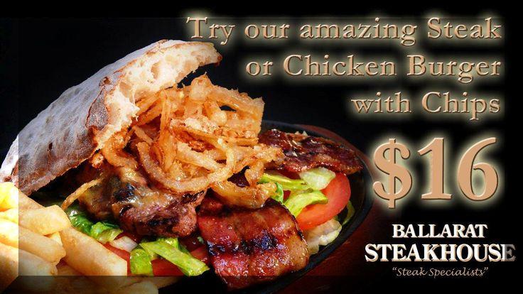 Ballarat Steakhouse Home