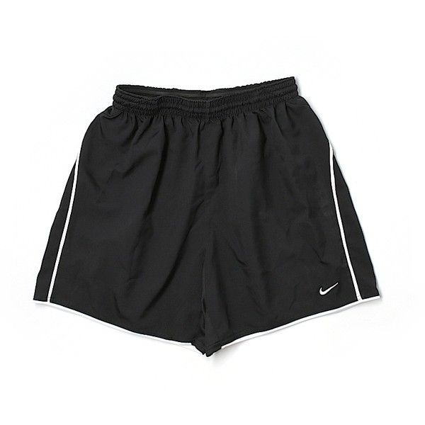 Pre-owned Nike Athletic Shorts Size 8: Black Women's Activewear ($15) ❤ liked on Polyvore featuring activewear, activewear shorts, black, nike, nike activewear and nike sportswear