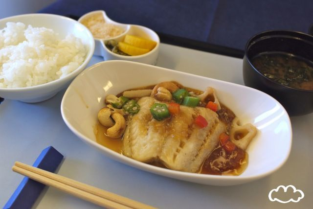 All Nippon Airways - Lunch