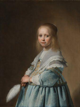 Een canvas met 'Portret van een meisje in het blauw'. Gemaakt in mijn Rijksstudio. De mogelijkheden zijn eindeloos, met de 200.000 werken van het Rijksmuseum