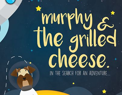 """Check out new work on my @Behance portfolio: """"Murphy and the grilled cheese"""" http://be.net/gallery/40493737/Murphy-and-the-grilled-cheese"""