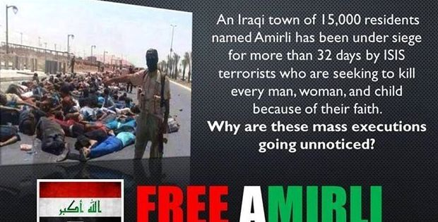 15,000 Shiite residents of Amirli in Iraq under siege of death by ISIS terrorists - AhlulBayt News Agency - ABNA - Shia News