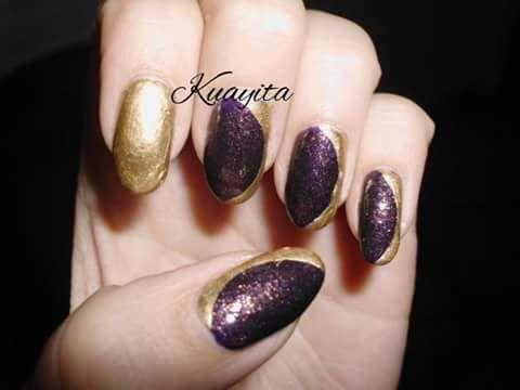 Púrpura & Dorado