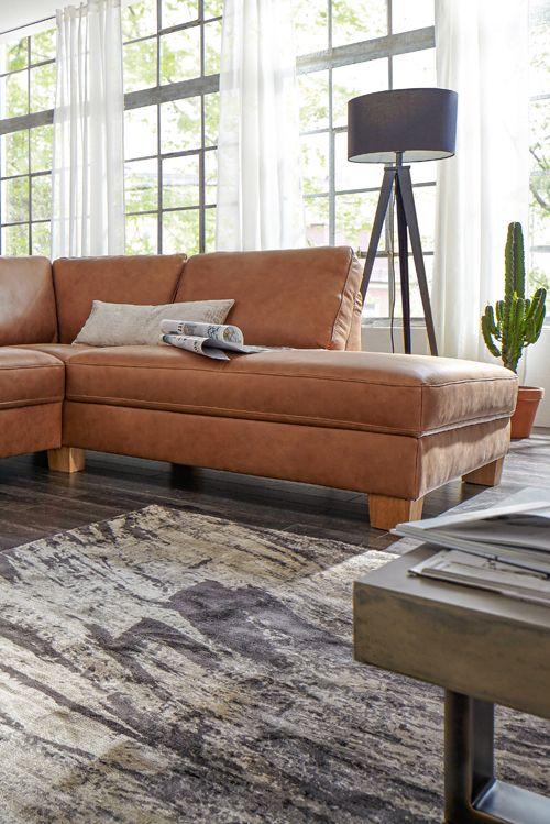 Wertvoll Und In Bestem Leder: Natura Kansas Von Spitzhüttl Home Company.  #sofa #