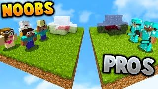 TWO PRO'S VS NOOBS! | Minecraft BED WARS with PrestonPlayz - YouTube