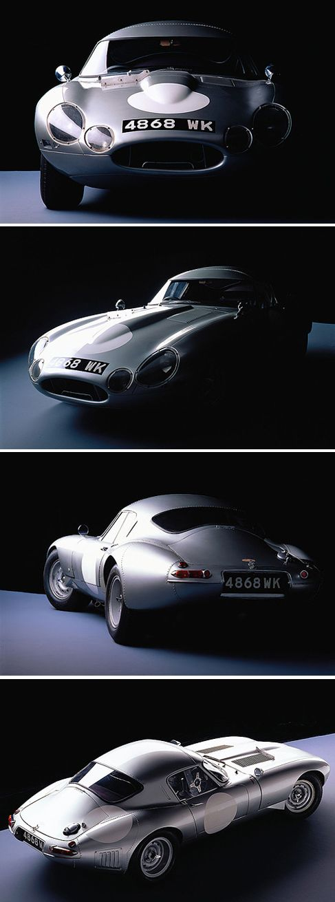 1964 Jaguar Type E Lightweight. ✏✏✏✏✏✏✏✏✏✏✏✏✏✏✏✏ AUTRES VEHICULES - OTHER VEHICLES   ☞ https://fr.pinterest.com/barbierjeanf/pin-index-voitures-v%C3%A9hicules/ ══════════════════════  BIJOUX  ☞ https://www.facebook.com/media/set/?set=a.1351591571533839&type=1&l=bb0129771f ✏✏✏✏✏✏✏✏✏✏✏✏✏✏✏✏
