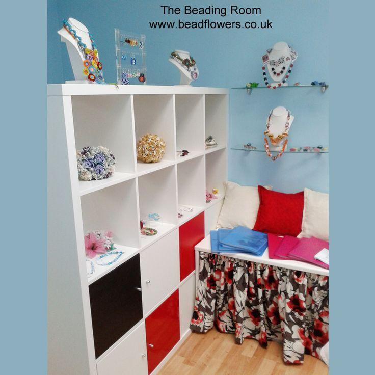 Bead Storage Furniture: how to plan a bead studio