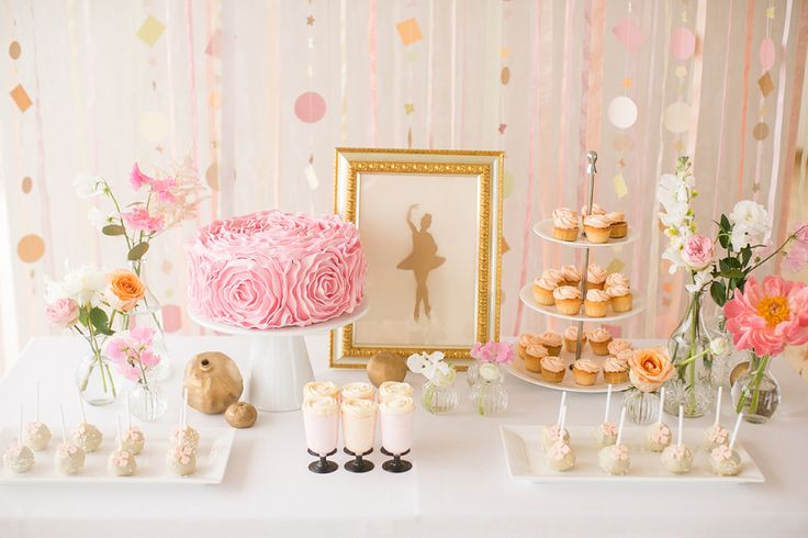 Ethereal Ballet Wedding Inspiration | a sweet idea for candy bar | балерины | балет |  сладкий стол | свадьба http://svetamart.ru/wedding/gallery/wedding-look/