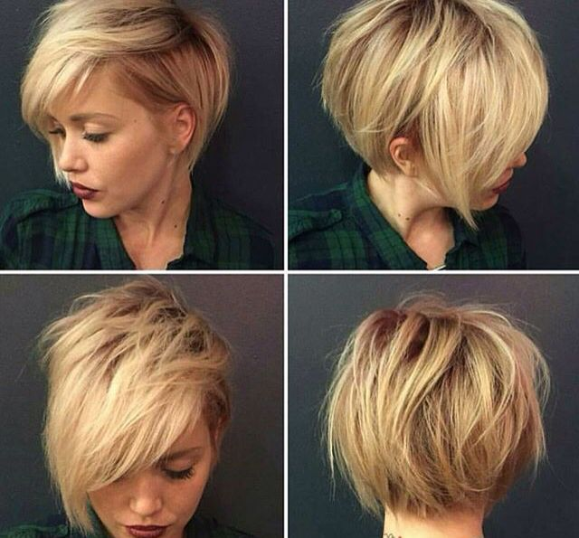 Absolutely LOVE. Undercut, back is perfect!