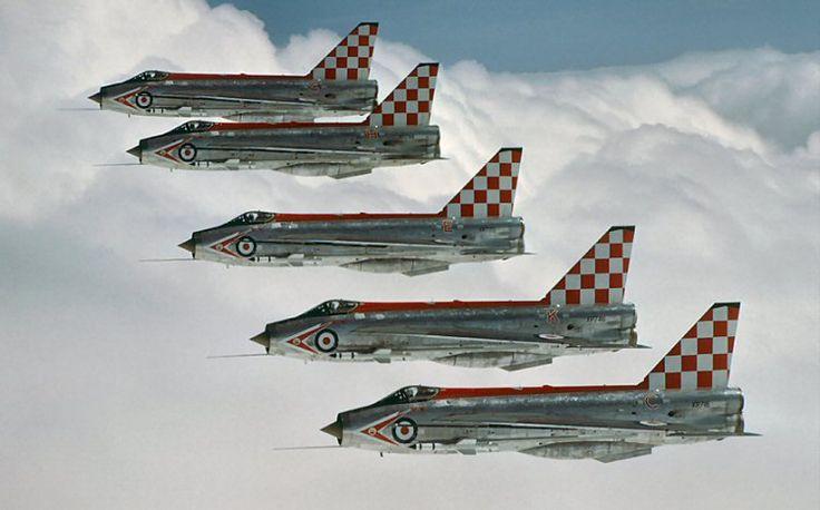 "EE/BAC Lightning F.3, 56 Squadron ""Firebirds"", Royal Air Force"