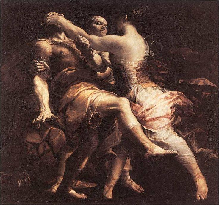Hekuba oslepuje Polymnéstora, Giuseppe Maria Crespi