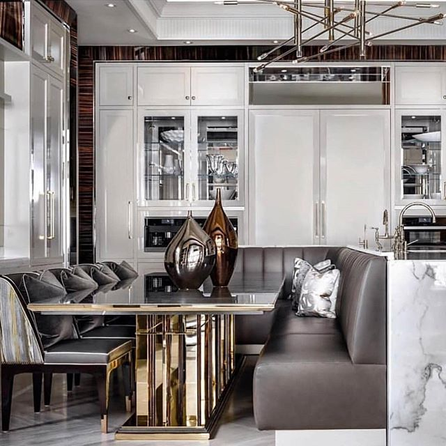 126 Custom Luxury Dining Room Interior Designs: Incredible Living Room Ideas By Top Interior Designer
