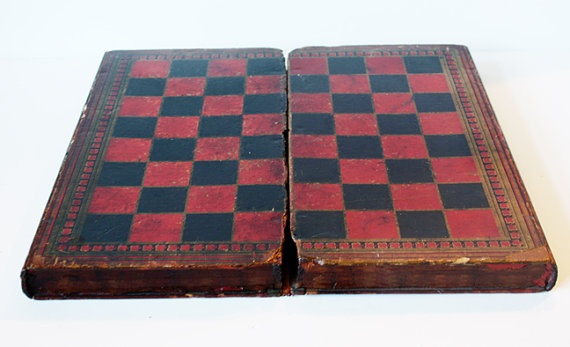1800s checker board | I heart this! ... for my house ...