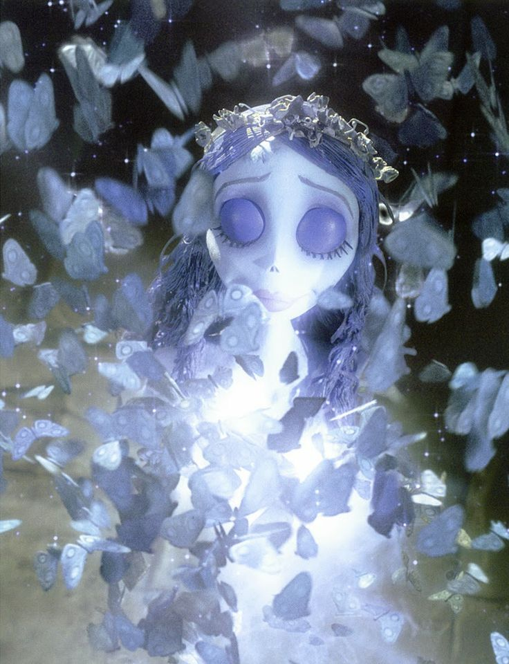 "Corpse Bride - ""If I touch a burning candle I can feel no pain; cut me with a knife it's all the same."""