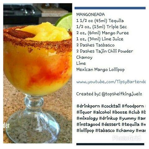 7 best alcohol recipes images on pinterest drinks alcoholic mangoneada tipsybartender fb cocktails ccteles recipe receta forumfinder Gallery