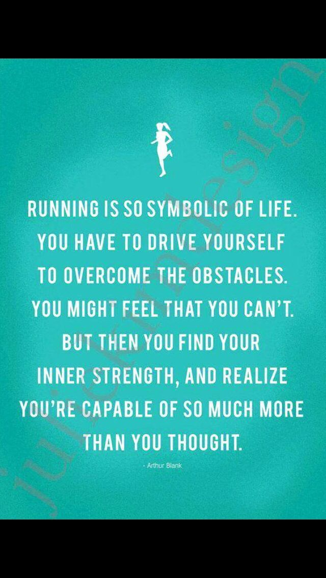 Running Is Like Life