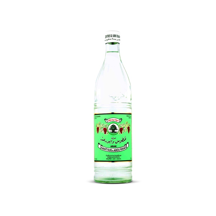 Arak Ghantous & Abou Raad - A longstanding favourite, Ghantous & Abou Raad has been Lebanon's bestselling arak for decades. This excellent arak is distilled three times from fermented white grapes and the best aniseeds to produce its famous smooth taste.  @domainewardy www.domainewardy.com