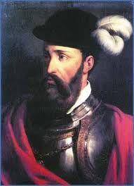 01 - Hacia 1523, a los 47 años de edad, Francisco Pizarro estaba situado en Panamá, ciudad de la que llegó a ser alcalde en 1522.