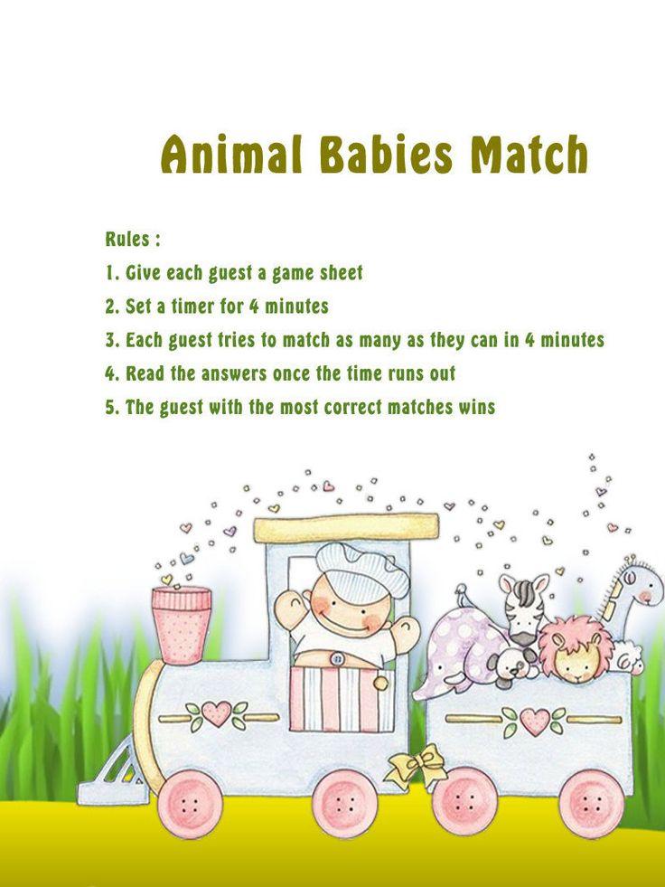 84 best baby shower games images on pinterest shower ideas baby shower par. Black Bedroom Furniture Sets. Home Design Ideas