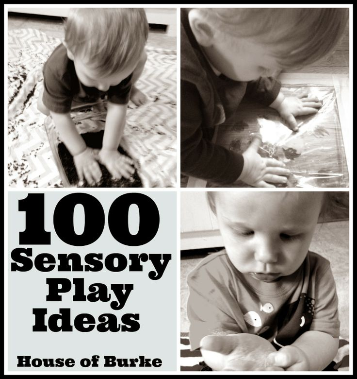 100 Sensory Play Ideas