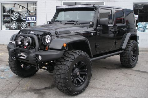 """This Jeep has it all - Fully loaded and packed with high-quality custom upgrades from the top brand names. No expense was spared on this build! AEV 4.5-inch Dual Sport SC Lift Kit KMC XD Series 778 Monster 20"""" Rims 37-inch Nitto Mud Grapplers 4.88 gears Much, Much More...."""