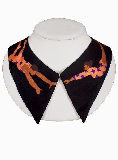 Cleo Ferin Mercury trapeze collar