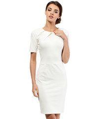 Bílé šaty MOE 013