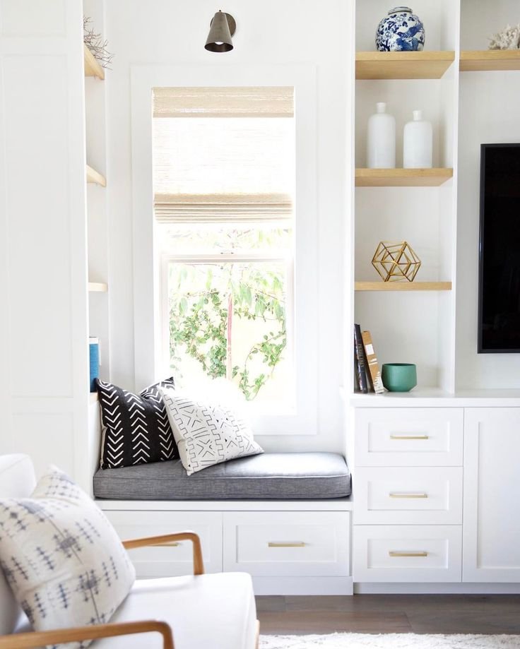 659 best window seats reading nooks images on pinterest for Reading nook cushion