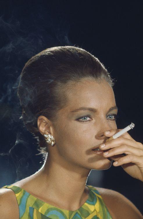 Romy Schneider in  La Piscine (1969).