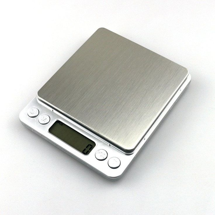 High Accuracy Digital Scale. Highly accurate scale to measure everything in your kitchen needed for your recipes. You can also weigh your jewelry. Can be setup to auto power off after 180 seconds without use. Comes with two transparent trays of different sizes that can be used to measure liquids and avoid spills.
