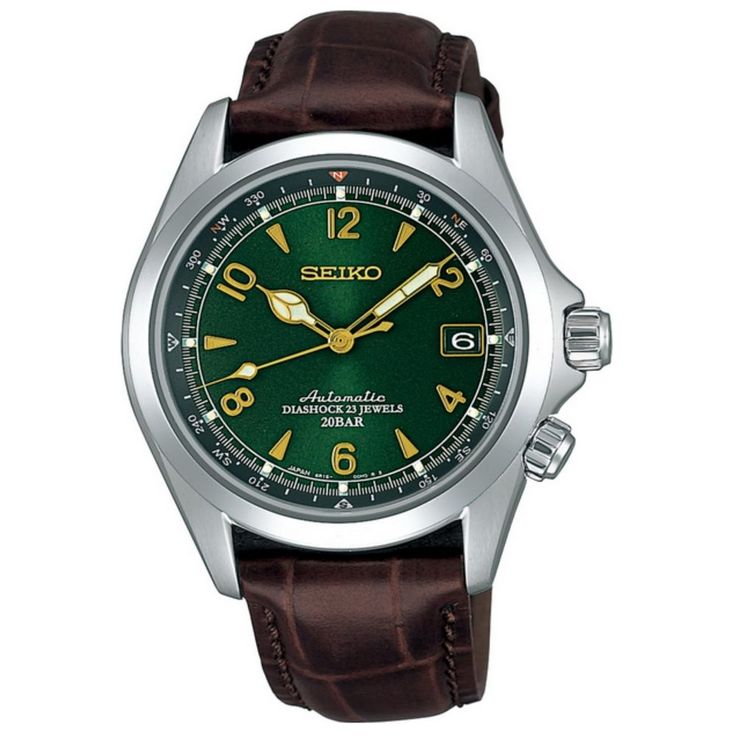 SEIKO SARB017 Mechanical Alpinist Automatic Men's Leather Watch - Made In Japan 4954628590008 | eBay